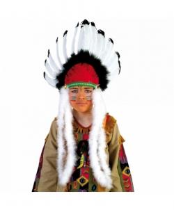 Головной убор индейцев из перьев - На голову, арт: I4849S0