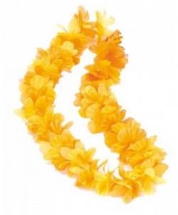 Желтое гавайское ожерелье - На шею, арт: I4899S0