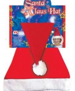 Красный колпак Санта Клауса, размер: UNI - Новогодние колпаки, арт: I1081S101