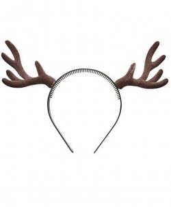 Оленьи рога коричневые объемные - Рога, нимбы, уши, арт: I6592S0