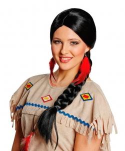 Черная коса индианки - Парики, арт: I6635S0