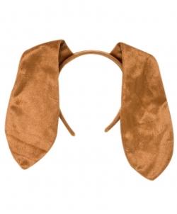 Длинные собачьи уши на ободе - Рога, нимбы, уши, арт: I6639S0