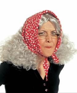 Седой парик Бабы Яги - Парики, арт: I6799S0