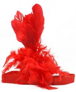 Красная повязка на голову, размер: UNI - На голову, арт: I4741S102