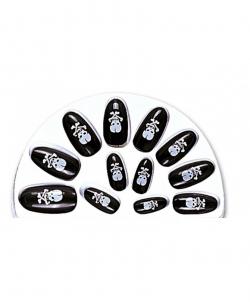 Накладные ногти с черепами - Накладные ногти, арт: I7295S0