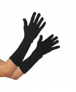 Черные перчатки (35 см), размер: 22 - Перчатки, арт: I7483S106