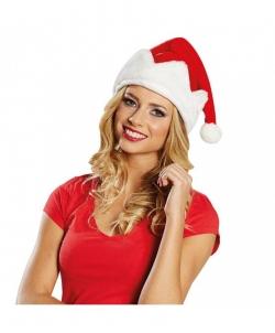Рождественский плюшевый колпак Санты, размер: UNI - Новогодние колпаки, арт: I7665S102