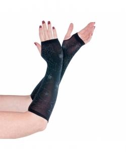 Перчатки без пальцев с паутиной, размер: UNI - Перчатки, арт: I8230S112