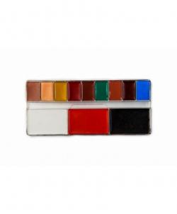Профессиональный театральный грим(палитра 12 цветов, цветная) - Театральный грим, арт: I8456S0