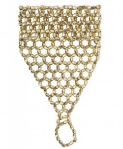 Украшение на кисть руки из бисера (золото) - Перчатки, арт: I8606S0