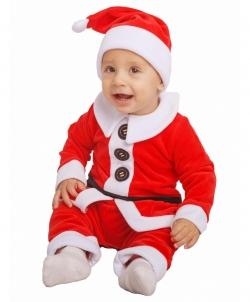 Костюм Санта-Клауса для малыша, размер: 74 - На Новый Год 2019, арт: I8935S161