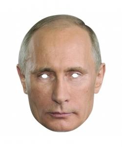 Маска 2D Владимира Владимировича Путина - Маски, арт: I9056S0