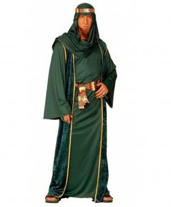 Карнавальный костюм: Костюм арабского шейха (зеленый), размер: 48-50 - Все мужские костюмы, арт: I9582S22