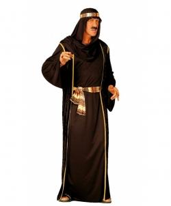 Карнавальный костюм: Костюм арабского шейха (черный), размер: 48-50 - Все мужские костюмы, арт: I9583S22