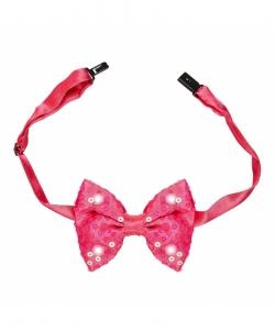 Галстук-бабочка розовая - На шею, арт: I9641S0
